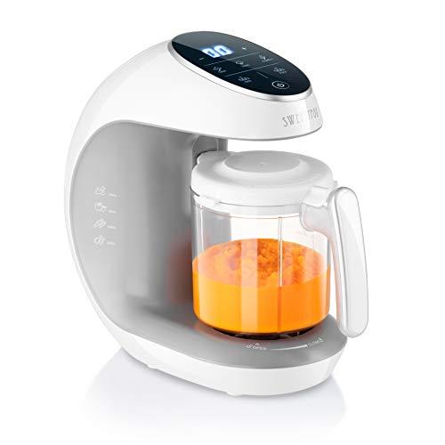 Robot de Cocina Babycook Multifunción 7en1 para Bebé - Al vapor, Procesador de Alimentos, Limpieza Automática, Esterilizador de Biberones, Recalentar, Descongelar - Robot de Cocina Multifuncion
