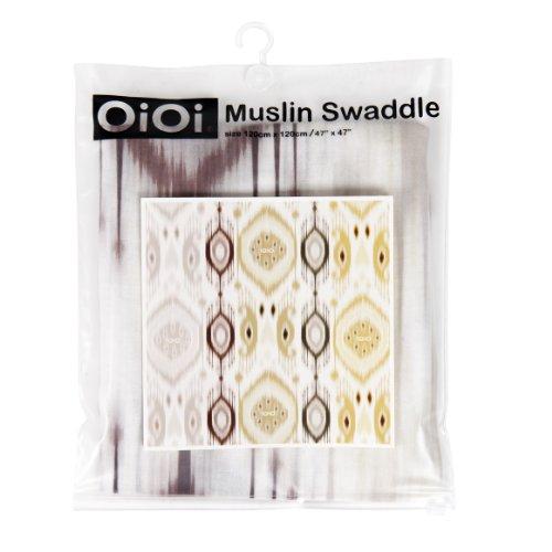OiOi Wickeltuch, digital bedruckt, natürlich mit Bambusfaser, Multi-Design