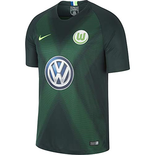 Nike VFL Wolfsburg Breathe Stadium Home Camiseta