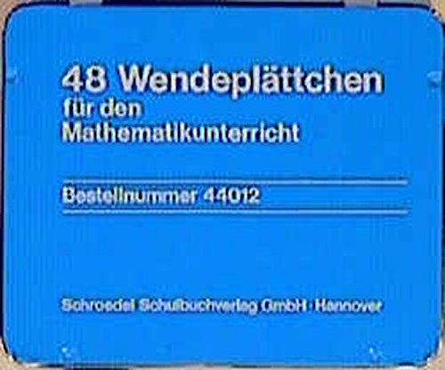 Mathematik Arbeitsmittel für die Unterrichtswerke Welt der Zahl, Primo und Mathebaum: 48 Wendeplättchen aus Kunststoff
