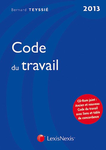 Code du travail (CD inclus)