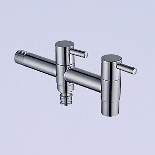 Qwer Extra Long-Washing Maschinengewindebohrer in 2 1 Aus 2 In der Waschmaschine Taps Mops ? Mixer