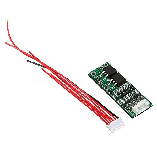 Paletur88 Shutz- Platte 5 S Tresor PCB mit Draht Langlebig Zelle Bms Ladegerät Schaltkreismodul 18V 21V Lithium-Batterie 15A -