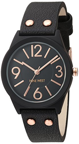 Nine West Damen-Armbanduhr NW/1932BKRG (Nine West Damen Uhren)