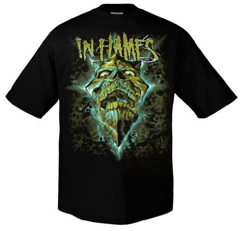 In Flames Glowing Jester Mint 701282 Herren T-Shirt 001 M