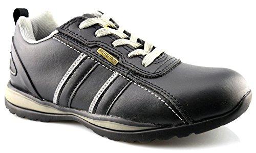 Grafters, Damen Stiefel & Stiefeletten Black Leather