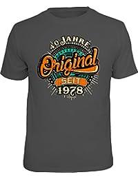 RAHMENLOS Original Geschenk T-Shirt Zum 40. Geburtstag