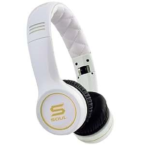 Soul by Ludacris SL100GW Ultra Dynamische On-Ear-Kopfhörer weiß