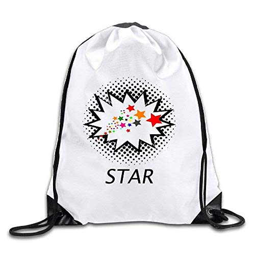 Fashion Unisex Gym Bag Flower Camp Go Logo Unisex Fasion Drawstring Shoulder Backpacksluggage Bags Casual Travel Bags Shoulder Pouch Beam Port Backpack Tote Canvas Bag Storage Bag One Sized White