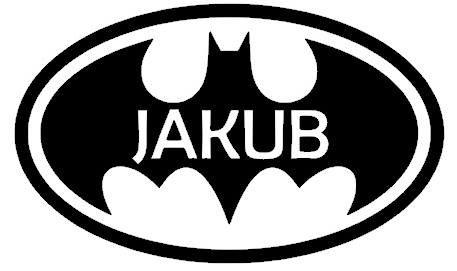 Logo de Batman. Nom de l'enfant Autocollant personnalisé Autocollant sur le mur. décoration pépinière autocollant autocollants maison GRATUIT petit Batman bébé