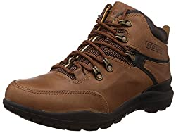Redchief Mens Tan Leather Boots - 7 UK/India (40.5 EU) (RC5070)