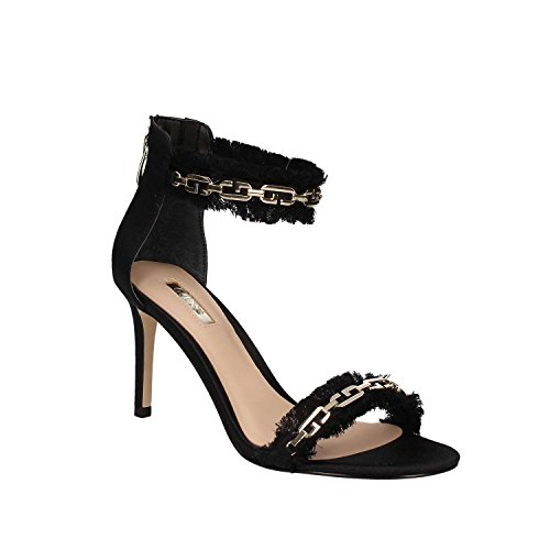 Guess FLCAT1SAT03 Sandalo Tacco Donna Nero