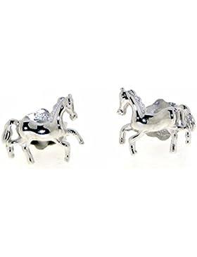 Derby Ohrstecker kleine Pferdchen - Sonderangebot nur für kurze Zeit Sterling-Silber 925 - 26075