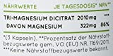 NATURE LOVE® Magnesium - 2250mg Premium Magnesiumcitrat, davon 360mg elementares Magnesium je Tagesdosis. 180 Kapseln. Hochdosiert, laborgeprüft, ohne Zusätze, vegan & hergestellt in Deutschland