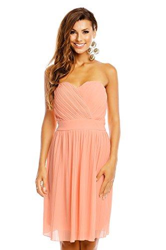 Mayaadi Kleid Spitzen-Kleid Ball-Kleid Fest-Kleid Abend-Kleid Party-Kleid Cocktail-Kleid HS-374...