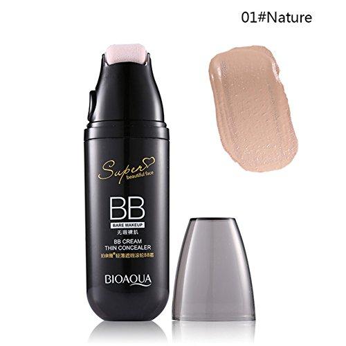Zantec BB Cream Base Make up Concealer Feuchtigkeitscreme Kosmetik Gesicht Make up mit kleinen Roller