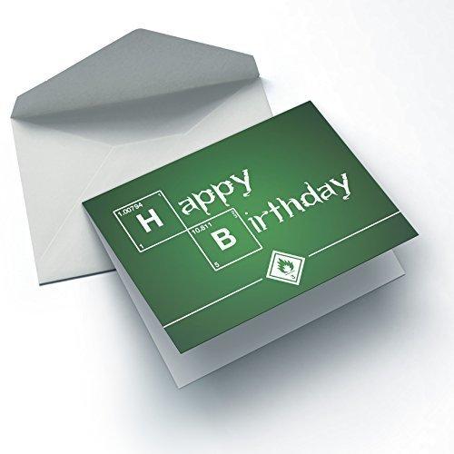 Nerd Cards - Breaking Birthday - Die Geburtstagskarte für Nerds, Geeks & Serienfans