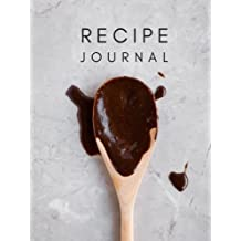 Recipe Journal: Blank Recipe Book; Blank Cookbook; Personalized Recipe Book; Cute Recipe Book; Empty Recipe Book; Customized Recipe Book; Small Blank Cookbook; Blank Recipe Cookbook
