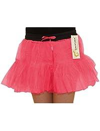 Crazy Chick Children 2 Layer Tutu Skirts Ballet Dance Hen Night Party Fancy Dress