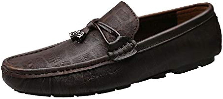 SRY-scarpe, Mocassini Uomo, Marronee (Marronee), 39,5 EU | La prima prima prima serie di specifiche complete per i clienti  106464