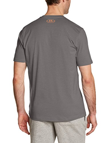 Under Armour Cc Sportstyle Logo Herren Fitness - T-Shirts Graphite Medium Heat