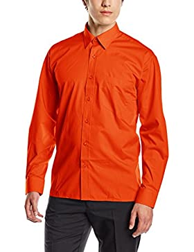 Premier Workwear Poplin Long Sleeve Shirt, Camicia Uomo