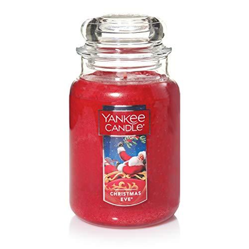 Yankee Candle Vela en un Vaso Doze, la víspera de Navidad, Rojo, Frasco Grande