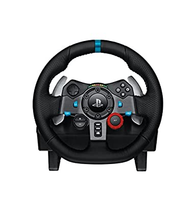 Logitech G29 Driving Force Racing Wheel and Pedals (PS4 / PS3 & PC) UK-Plug