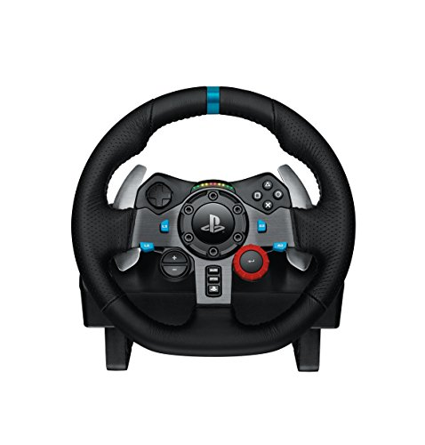 Compare Logitech G29 Driving Force Racing Wheel and Pedals (PS4/PS3 & PC) UK-Plug prices