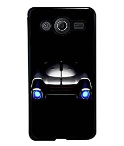 PrintVisa Designer Back Case Cover for Samsung Galaxy Core I8260 :: Samsung Galaxy Core Duos I8262 (Metallic Travel Classic Shiny Chrome Antique Technology)