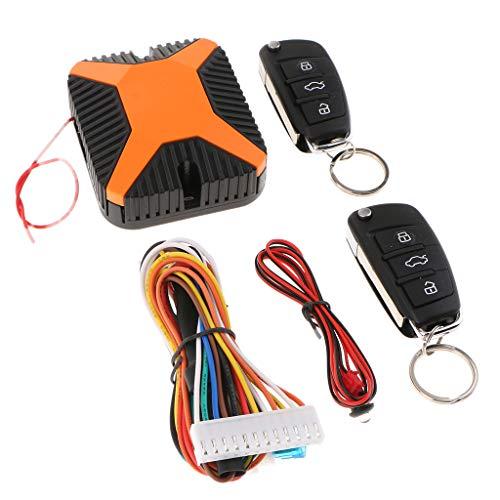 Homyl-Kit-Apertura-Senza-Chiave-delle-Portiere-Auto-con-Telecomand-Sistema-di-Chiusura-Keyless
