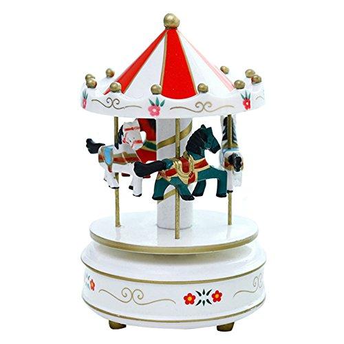 Symbol Spieluhr Karussell Romantik Karussell Spieluhr Holz Spielzeug Spielzeug Kinder Kids Toys