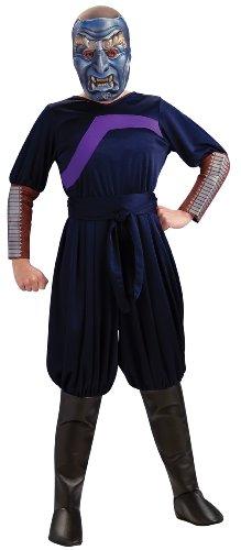 (Die Legende von Aang - Der blaue Geist Kinderkostüm - 8-10 Jahre)