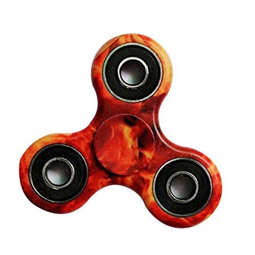 Spinner Fidget EDC ADHD Focus Toy Ultra Durable High Speed Si3N4 Hybrid Ceramic Bearing 1-3 Min Spins Non-17D Printed