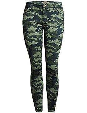 SYGoodBUY Pantalones Cortos de Otoño de la Caída del Verano de Las Mujeres Pantalones Cortos Pantalones recortados...