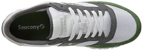 Saucony Originals Jazz 91, Sneakers basses homme Blanco / Verde / Carbón