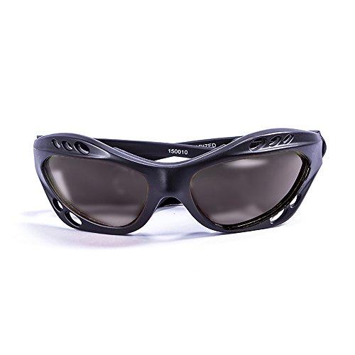 Ocean Sunglasses - Cumbuco - lunettes de soleil polarisées - Monture : Noir Mat - Verres : Fumée (15000.0)