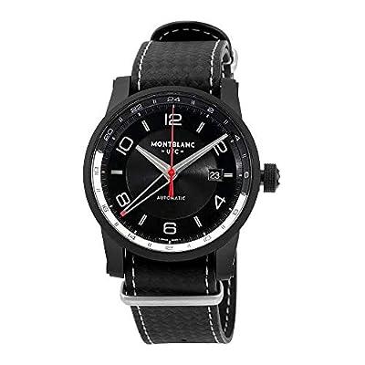 Montblanc Timewalker Urban Speed UTC E-Strap Automatic Black Dial Mens Watch 113828