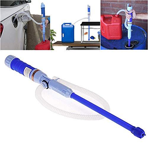 Yete, pompa elettrica per il trasferimento di acqua/carburante, non corrosiva per liquidi, pompa di aspirazione, per gas, olio, diesel, solvente, funzionamento a batt