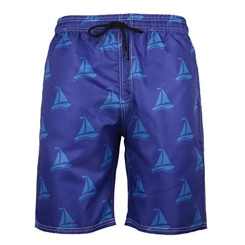 Li he1 Pantalones Cortos Los Hombres Color sólido