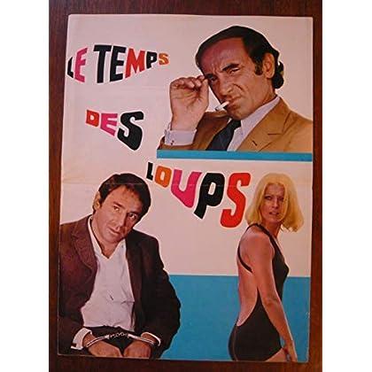 Dossier de presse de Le Temps des Loups (1969) – 33x73cm - Film de Sergio Gobbi avec R Hossein, V Lisi, Ch Aznavour – Photos – résumé scénario – Bon état.
