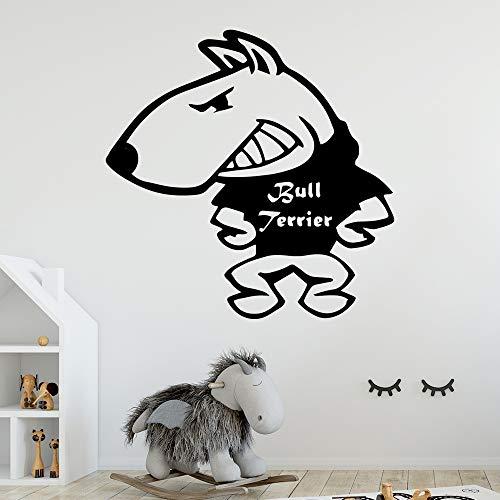 jiushizq Hot Dog Benutzerdefinierte Name Selbstklebende Vinyl wasserdichte Wandkunst Aufkleber Für Kinderzimmer Kinderzimmer Dekor Für Kinderzimmer Schwarz 86x86 cm