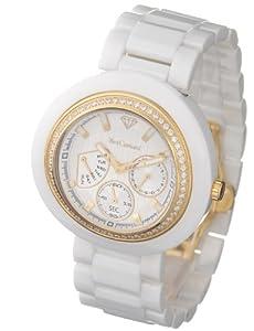 Yves Camani YC1008-B - Reloj de mujer de cuarzo, correa de cerámica color blanco de Yves Camani