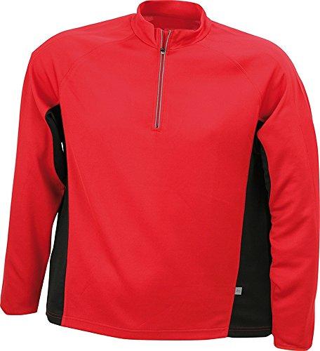 Men's Running Shirt im digatex-Bundle Red/Black