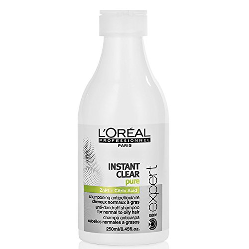 L'Oréal Expert Shampoo, Instant Clear Purifying Anti-Dandruff, 250 ml