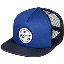 DC Shoes Men's Schmades Trucker Hat, Gorra Ajustable, Talla Única, Azul (SUMMER BLUES (bra0))