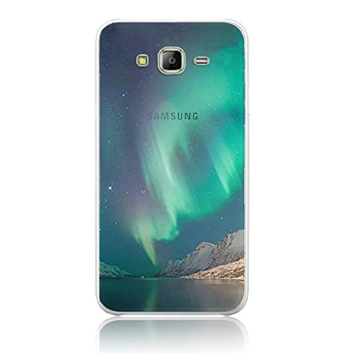 Vandot Coque pour Samsung Galaxy J5(2015) J500 Silicone TPU Bumper Unique Design Souple TPU Soft Cover Effacer Clair transparent Etui Housse Case - Feather JiGang