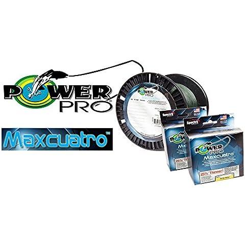 Power Pro Maxcuatro Linea 40lb 1500yd 0,28 millimetri GIALLO