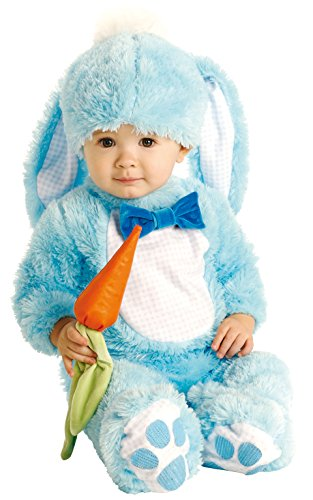 Blue Wabbit Bunny Rabbit Costume Baby Size Fancy Dress (Wabbit Kostüm)
