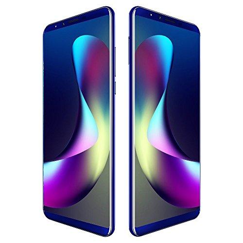 CUBOT X18 Plus 4G Smartphone LTE ohne Vertrag mit 5,99 Zoll Vollbildschirm,Dual Rückkamera,Fingerabdruck Sensor,4GB RAM 64GB ROM,4000 mAh Akku,Android 8.0 MTK6750T 1,5 GHz Octa Core (Blau)